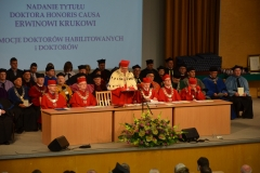 The ceremony of granting habilitation